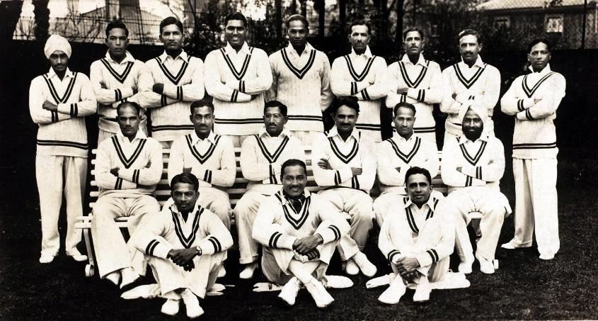 The Indian cricket team in the 1930s