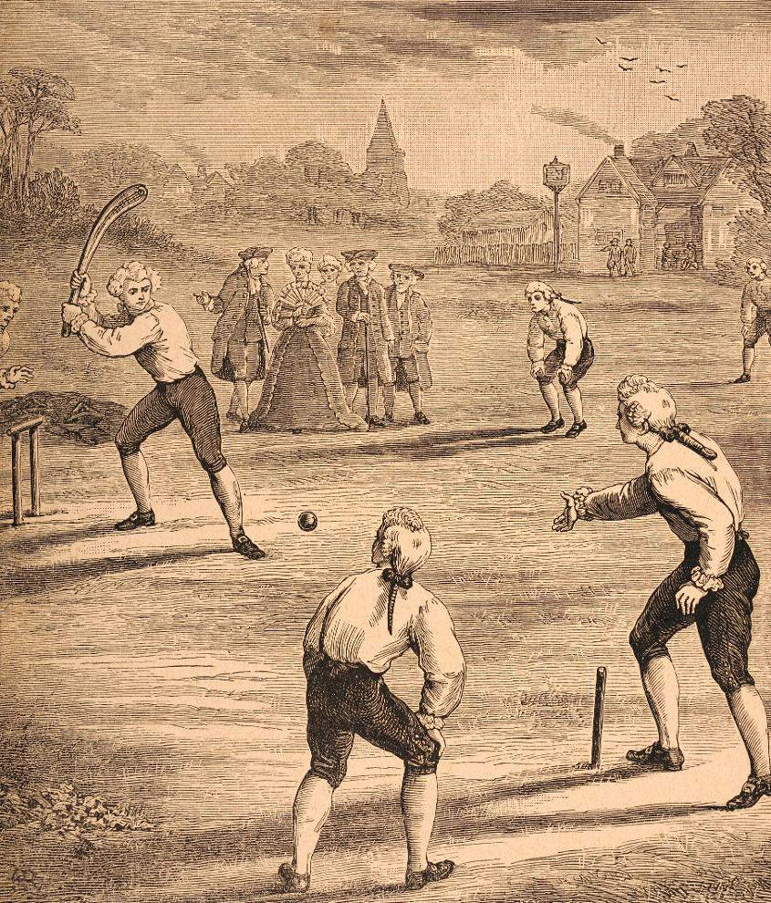 Early village cricket