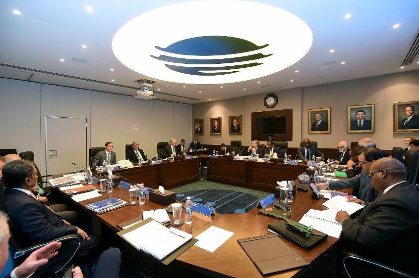 The ICC Board Meeting held in Dubai