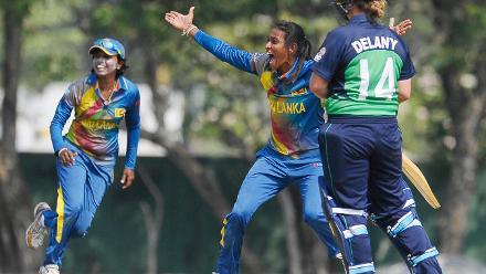 Sri Lanka v Ireland, ICC Women's World Cup Qualifier Group A