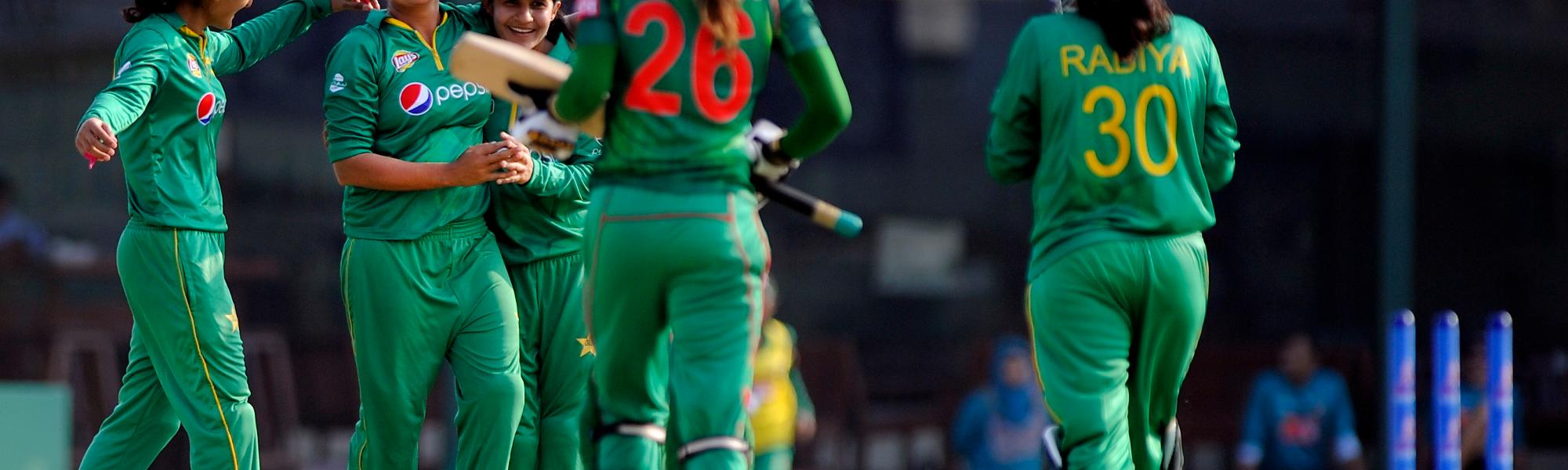 Jahanara Alam's scalp took Sana Mir's wicket tally to 100
