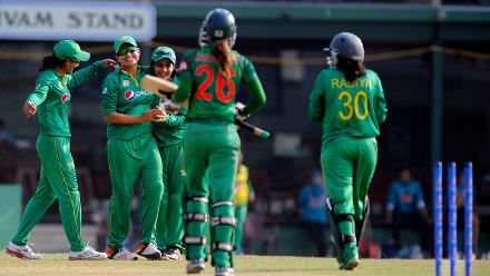 Pakistan v Bangladesh, ICC Women's World Cup Qualifier Group B