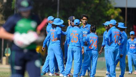 India v Ireland, ICC Women's World Cup Qualifier Group A