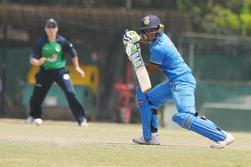 Deepti Sharma and Thirush Kamini shared an opening stand of 174 runs in a clash against Ireland Women.