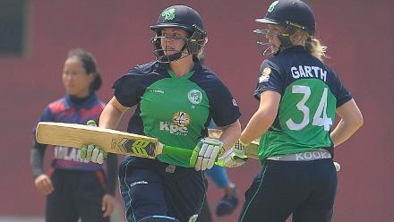 Ireland v Thailand, ICC Women's World Cup Qualifier Group A