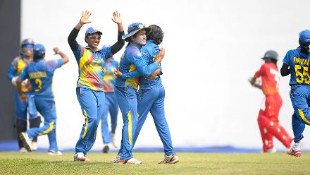 Sri Lanka v Zimbabwe, ICC Women's World Cup Qualifier Group A
