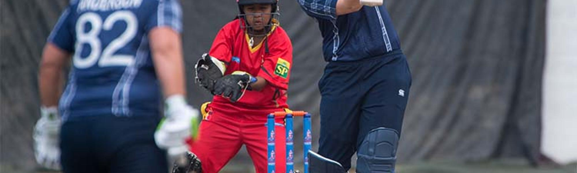 Scotland Women vs PNG Women