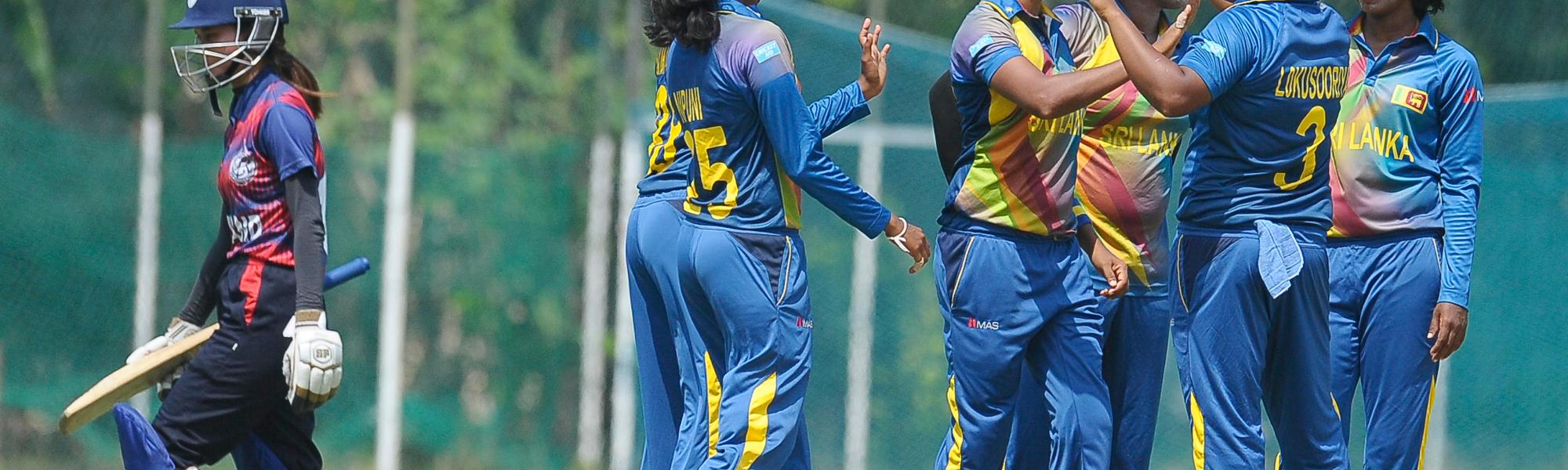 Sri Lanka v Thailand Women's World Cup Qualifier