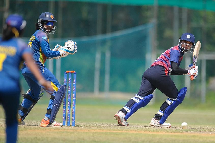 Sri Lanka set up a seven-wicket win over Thailand in a Group A clash of the ICC Women's World Cup Qualifier 2017