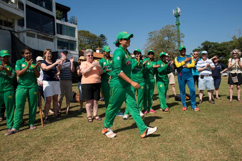 Pakistan beat Scotland by six wickets to make it to the Super Six Stage