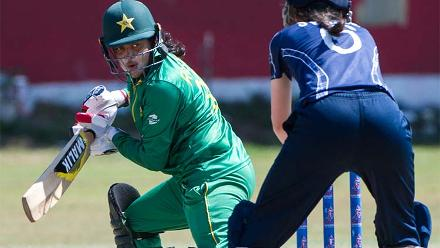 Pakistan v Scotland, ICC Women's World Cup Qualifier Group B