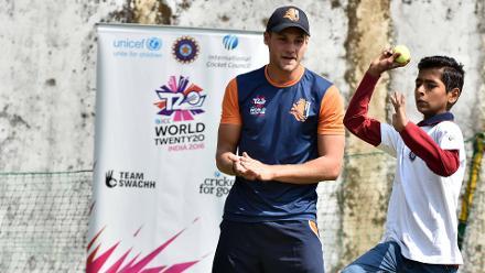 Cricket for Good at ICC World Twenty20, India 2016