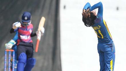 Sri Lanka v Thailand, ICC Women's World Cup Qualifier Group A