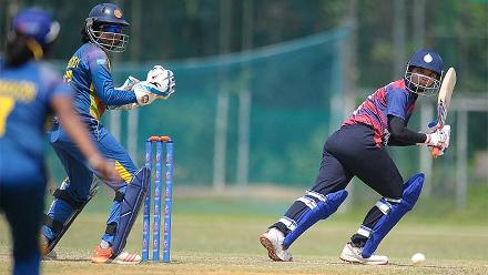 Sri Lanka v Thailand, ICC Women's World Cup Qualifier Group A