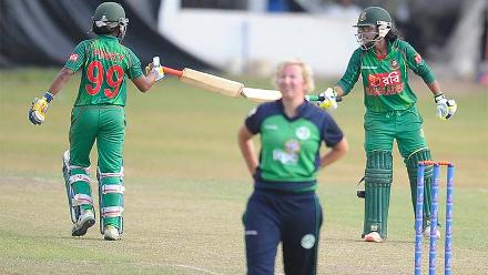 Bangladesh v Ireland, ICC Women's World Cup Qualifier Super Six
