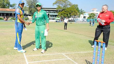 Sri Lanka v Pakistan, ICC Women's World Cup Qualifier Super Six