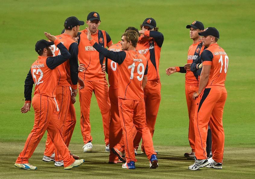 Netherlands team celebrating