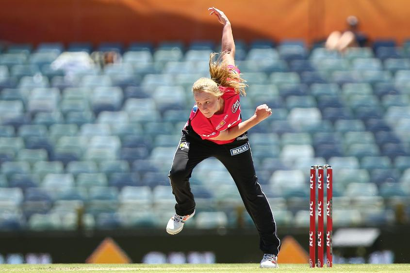 Garth has made her mark at the Women's Big Bash League with the Sydney Sixers