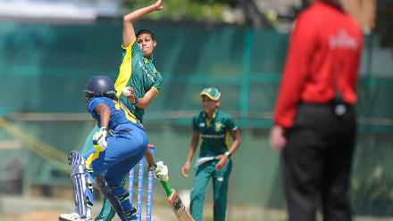 Sri Lanka v South Africa , ICC Women's World Cup Qualifier Super Six