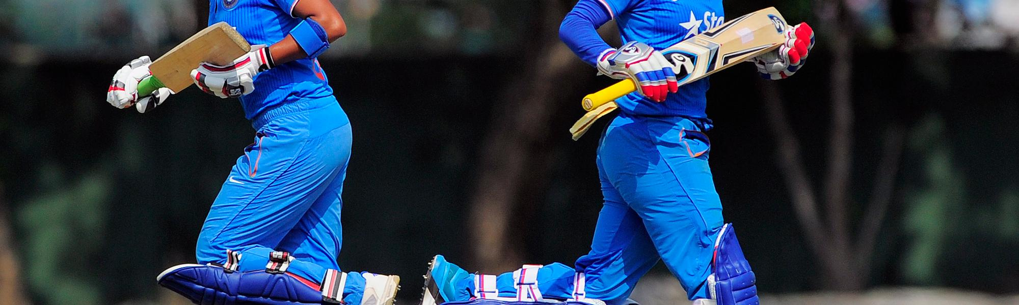 Mithali Raj and Mona Meshram shared a second-wicket stand of 136.