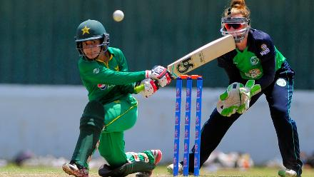 Ireland v Pakistan , ICC Women's World Cup Qualifier Super Six