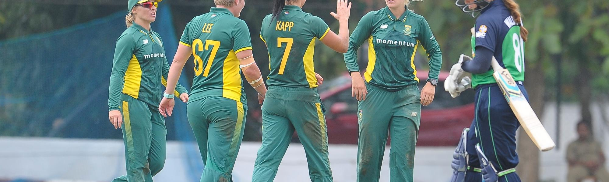 South Africa had sealed its ICC Women's World Cup 2017 spot