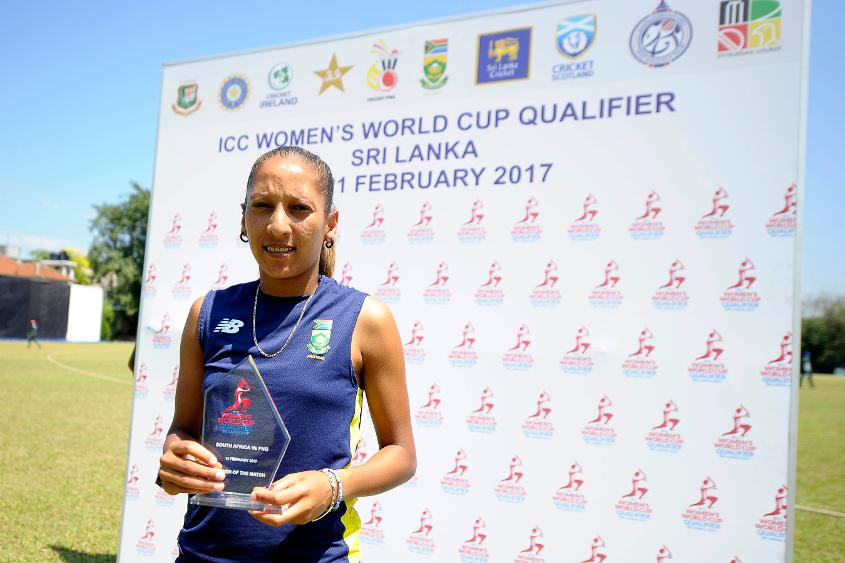 """""""Just having that two fiery people at the crease builds the momentum throughout the innings,"""" says Shabnim Ismail."""