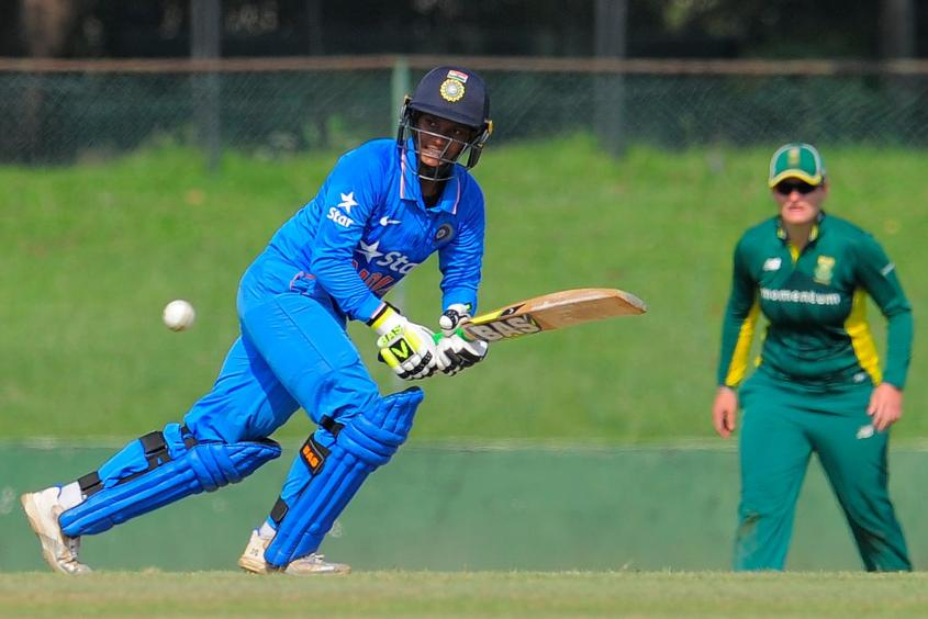 Deepti Sharma scored 71 in 89 balls to take the game forward
