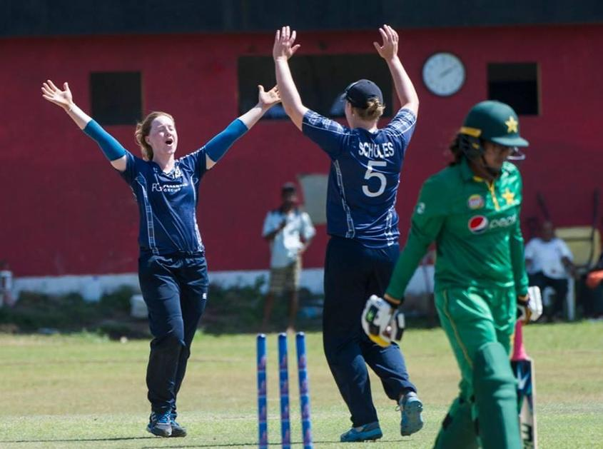 Kirstie Gordon finished the tournament with eight wickets from four matches, including 4 for 29 against Pakistan.