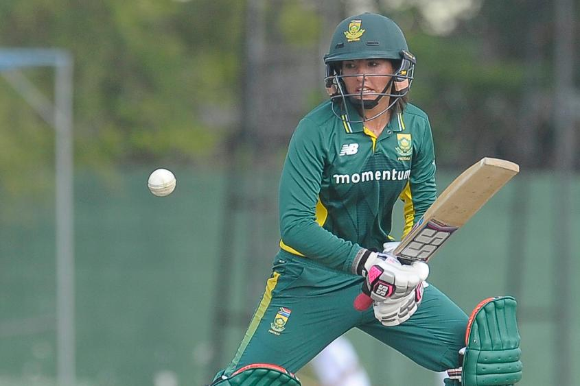 Sune Luus could be a surprise package with her handy spin and strong batting