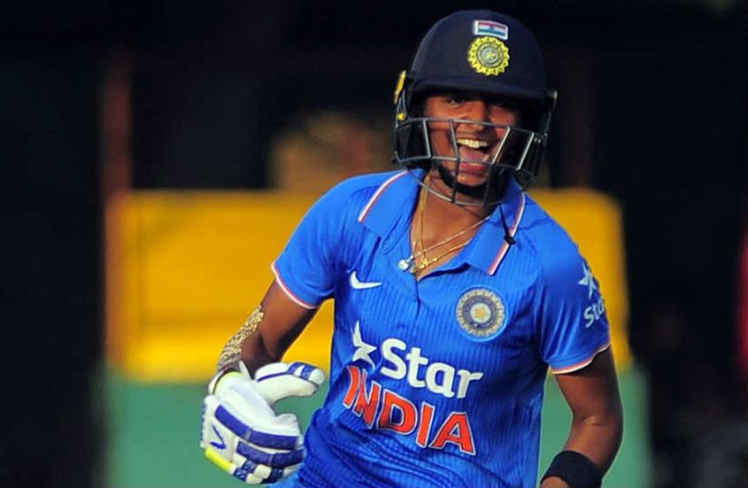 Harmanpreet Kaur remained unbeaten on a run-a-ball 41.