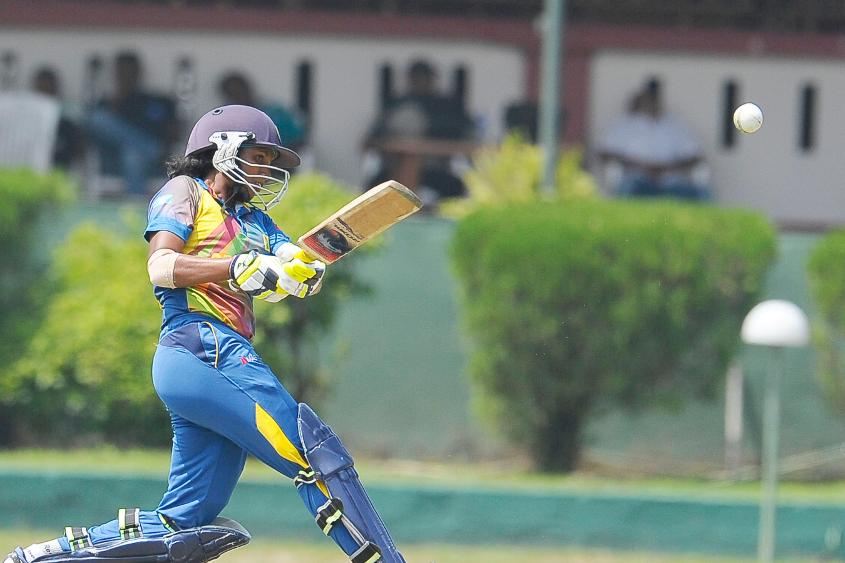 Hansika finished just two runs short of 200 runs in the tournament.