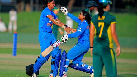 Harmanpreet Kaur against South Africa