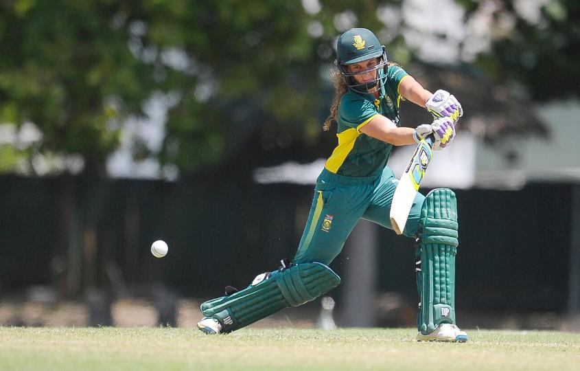 Laura Wolvaardt is the third-highest run-getter of the tournament, with an aggregate of 231 runs in eight matches.