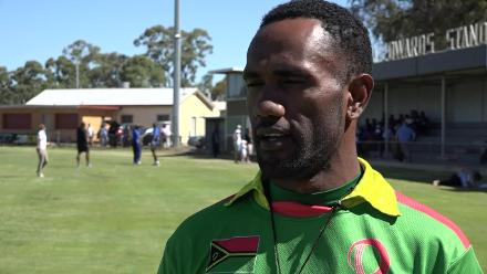 Vanuatu Captain Andrew Mansale speaks after his side seal qualification from ICC WCL Qualifier EAP