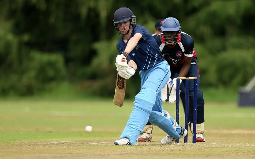 Cayman Island beat hosts Argentina in a clean sweep amongst humid conditions and rain delays.