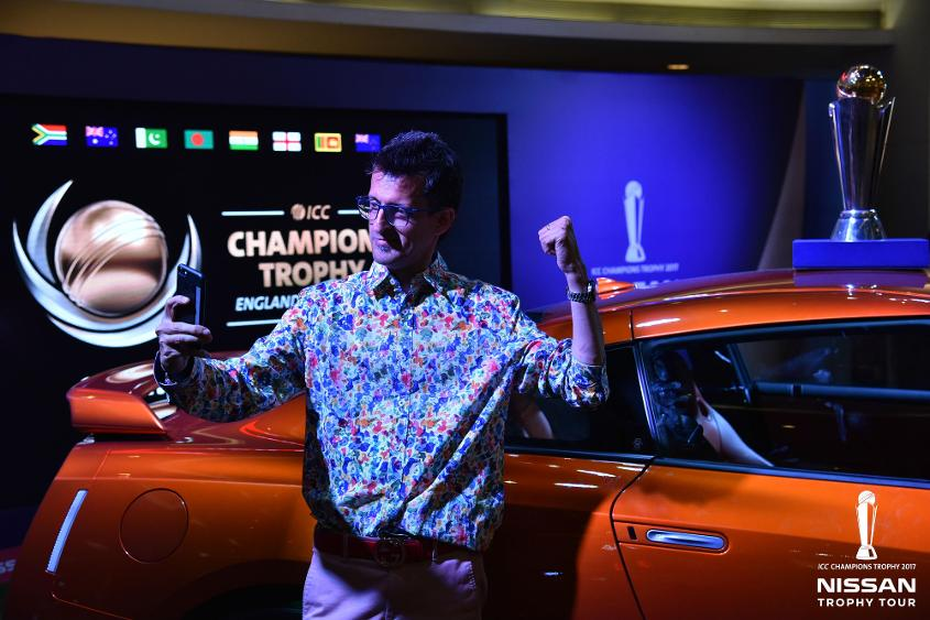 ICC CT17 Nissan trophy tour Mumbai activation