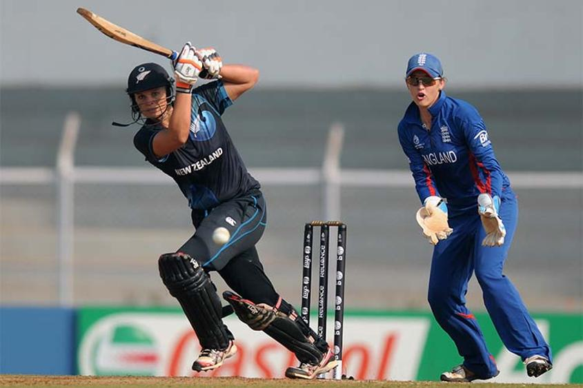 Suzie Bates could become the second player to score centuries in three consecutive World Cups