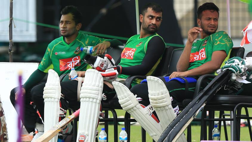 If you really want to know the modern-day Bangladesh role models, then you can't look beyond Mushfiqur, Shakib and Tamim.