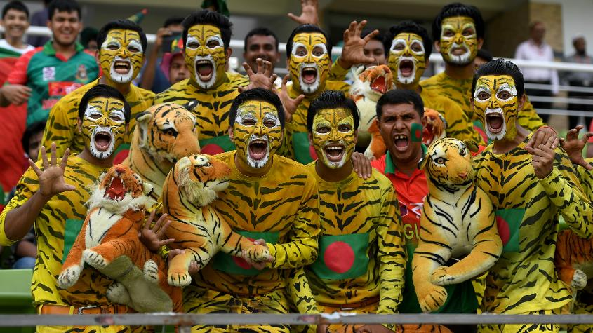 Bangladesh is a country of 165 million and everyone seems to be only talking about cricket.