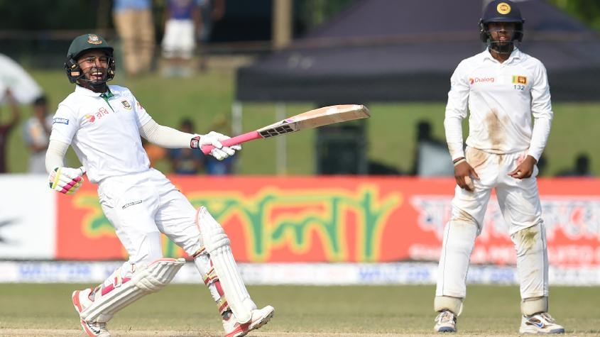 I am extremely happy and delighted for everyone involved with Bangladesh cricket, but mostly Mushfiqur.
