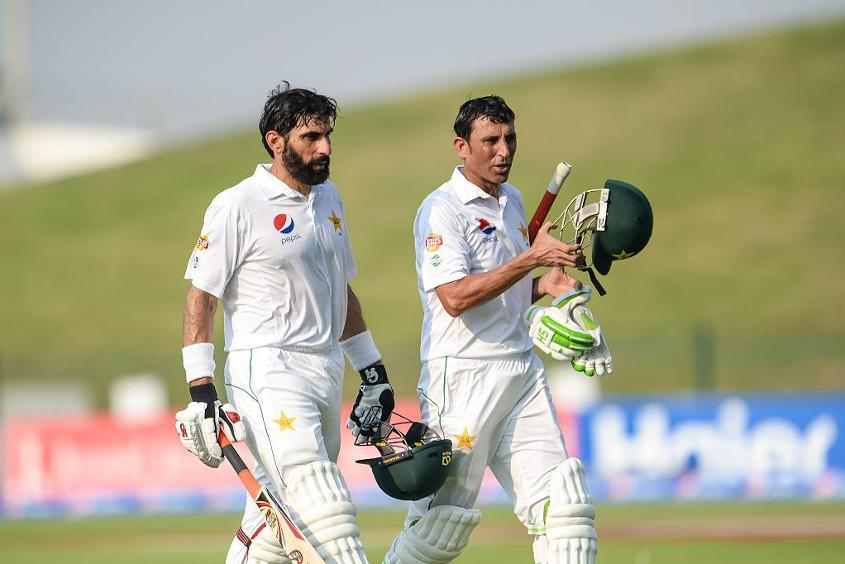 Younis Khan and Misbah-ul-Haq