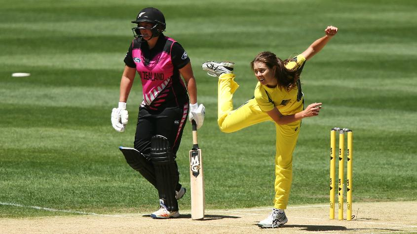 Molly Strano, the offspinner, could be in line to make her ODI debut later this year.