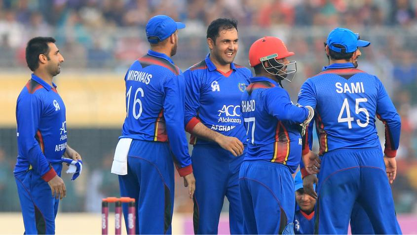 There is no change to 10th-ranked Afghanistan's tally of 52 points.