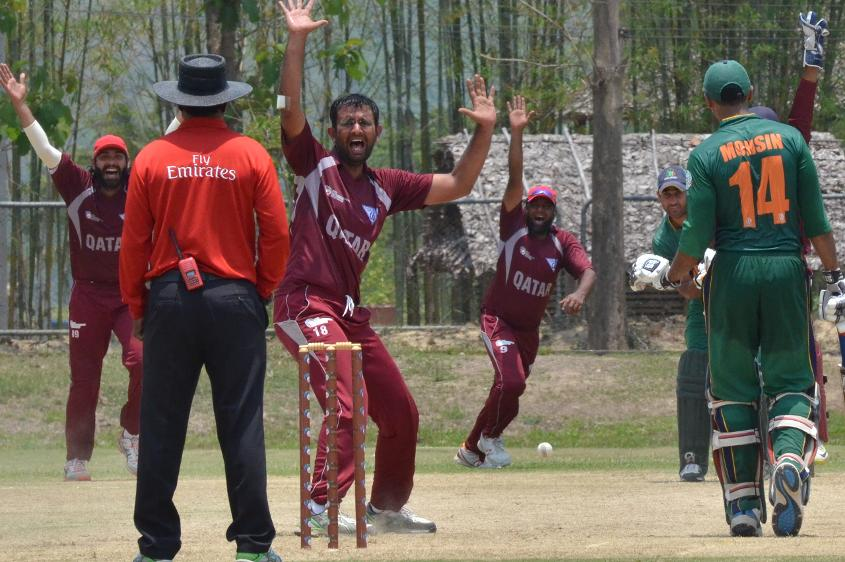 Qatar put in a superb bowling performance to hustle Saudi Arabia out for 94