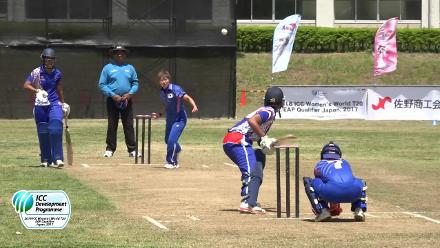 HIGHLIGHTS: Japan v Samoa from the Day 5 of ICC Women's T20 Qualifier, East Asia Pacific