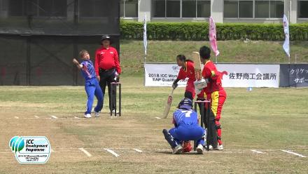 HIGHLIGHTS: Japan v PNG from the Day 6 of ICC Women's T20 Qualifier, East Asia Pacific