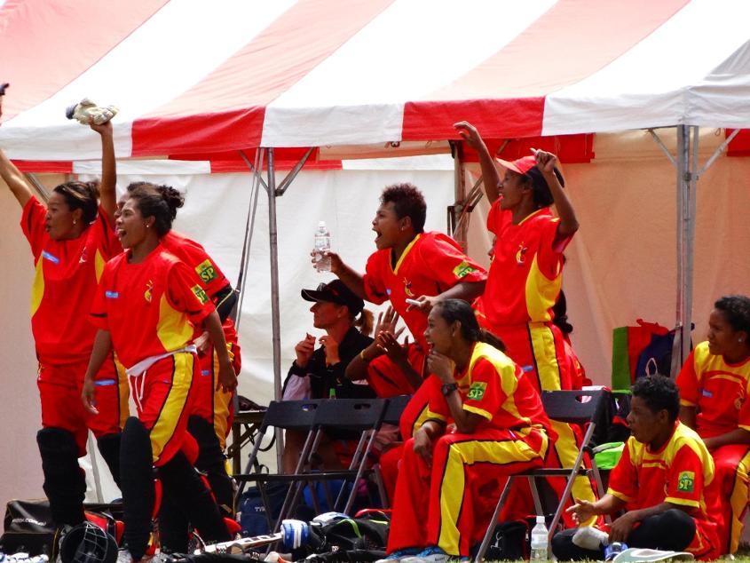 ICC Women's World T20 EAP Qualifier, Day 7, PNG v Samoa