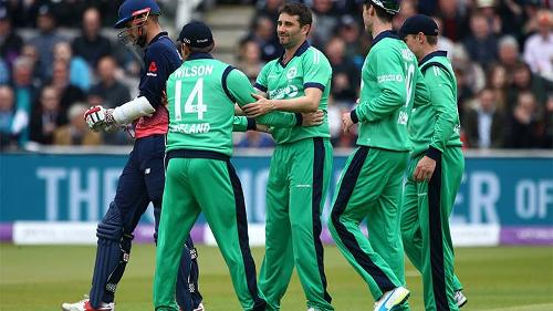 In the second match of its historic ODI series in England, Ireland chose to bowl first at Lord's.