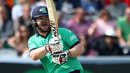 Paul Stirling got the Ireland chase off to a lively start with an opening stand of 68.